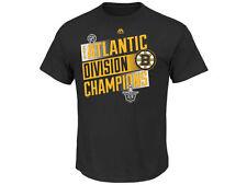 Boston Bruins Majestic 2014 NHL Atlantic Division Champions Hockey T-Shirt
