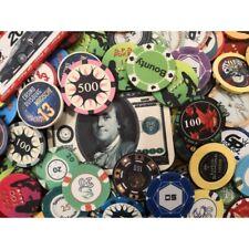 CERAMICA Chip Chip con logo casinò torneo di poker POKER gettoni Cash Game