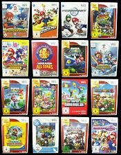 Mario Spiele für Nintendo Wii: z.B. New Super Mario, Mario Kart, Mario Galaxy...