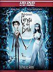 Tim Burton's Corpse Bride (HD DVD, 2006) HD NEW SEALED Johnny Depp Emily Watson