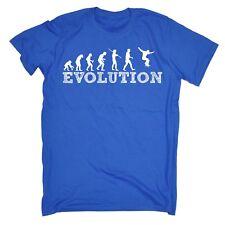 Para hombres evolución Skateboarding Skate Skater Dench camiones ruedas Ropa T-Shirt