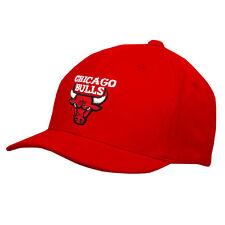 New toddler size sz 2 4 NBA CHICAGO BULLS pro sports cap hat red white basktball