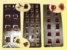 Pinzas Pelo Cabello Pinzas de Pelo 8 12 x 24 1-2 cm marrón/Azul