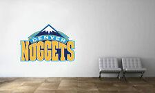 Denver Nuggets Logo Wall Decal NBA Basketball Decor Sport Mural Vinyl Sticker