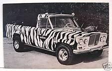 Wameru Daktari Safari Wagon Hot Rod Custom Vending Card
