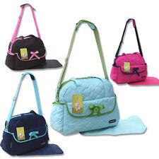 2 tlg Baby XXL Wickeltasche Pflegetasche Windeltasche Babytasche Farbauswahl