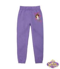 New Kids Pants Girls Sweat Pants Purple Joggers Sofia Die 1. 92 104 116 128