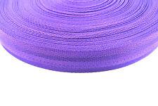 x1,x2,x5,x10 Metres Of 38/40mm Herringbone Webbing In Purple,Straps,Crafts,DIY
