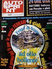Autosprint 6 1980 Arnoux Renault - Giro di Interlagos
