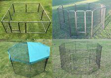 Foldable 6 / 8 Panels Pet Playpen Cage Fence Enclosure Dog Rabbit Cage