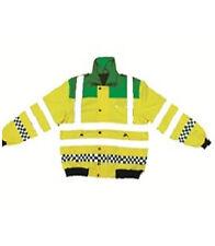 Paramedic Bomber Jacket Emergency EMT Ambulance Visibility Safety Vest 5 Sizes