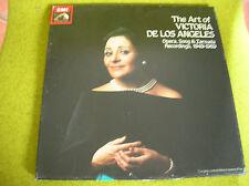 BOX 3 LP THE ART OF VICTORIA DE LOS ANGELES, 1949-69 -EMI SLS 5233