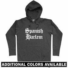 Spanish Harlem Gothic NYC Hoodie - New York Nueva Latino 212 917 646 - Men S-3XL