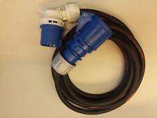 CEE Azul 16a ALARGADOR h07rn-f 3x2, 5 Cable de caravana DESDE 3m Enchufe Ángulo