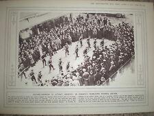 Photo article army recruitment drive Toronto business quarter Canada 1916