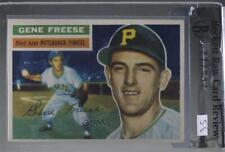 1956 Topps #46.2 Gene Freese (White Back) Pittsburgh Pirates Baseball Card