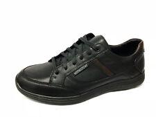 Scarpe Sneakers Mephisto Frank pelle nera listino €155 - 20%