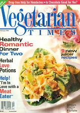 Vegetarian Times 1996 Lemon Meringue Greek Minnesota Hotdishes Juicer Recipes