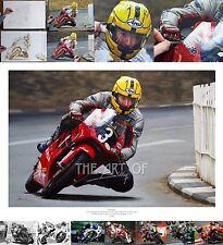 Joey Dunlop 2000 Honda RS125 Isle of Man TT oil painting fine art print