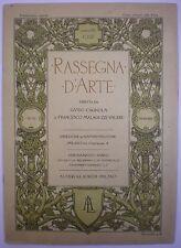 AUTOGRAFI LAMBERTO LORIA ARISTIDE SARTORIO ARTE RIVISTA RASSEGNA D'ARTE 1912