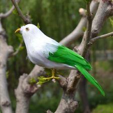 Handmade Feathered Bird Artificial Miniature Birds Figurine Holiday Party