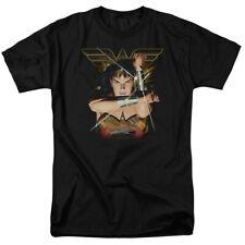 Wonder Woman Deflection DC Comics Licensed Adult T Shirt