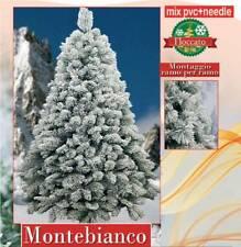 MONTEBIANCO - Maestoso Albero di Natale innevato - disponibile in 4 altezze