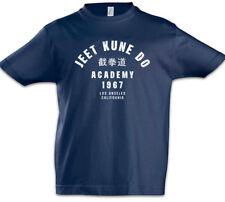 JEET KUNE DO ACADEMY Kinder Jungen T-Shirt Bruce Martial Arts Lee Stil Karate