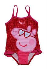PEPPA PIG COSTUME BAMBINA MARE PISCINA BAGNO 1 ANNO