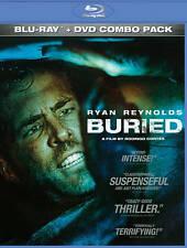 Buried Movie (Blu-ray/DVD, 2011, 2-Disc Set) Ryan Reynolds, Ivana Mino NEW!
