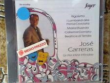 JOSE' CARRERAS - LA MIA LETIZIA INFONDERE (VERDI, DONIZETTI) - CD NUOVO (SEALED)