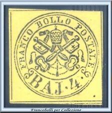 Antichi Stati Italiani 1864 Pontificio 4 b. n. 5A Nuovo