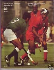 ORIGINAL PROGRAM MONTREAL 1976 OLYMPIC : HOCKEY