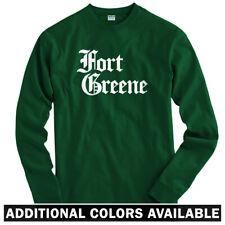 Fort Greene Gothic Brooklyn Long Sleeve T-shirt LS - Nets East NY - Men / Youth