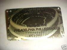 Philadelphia Veterans Stadium seat PLAQUE