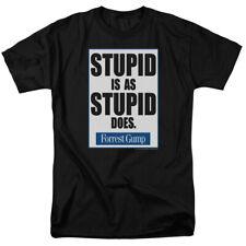 FORREST GUMP STUPID IS T-Shirt Men's Short Sleeve