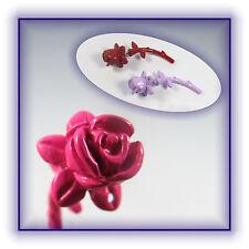 Ohrring Ohrstecker 3D Fake Plug Tunnel Rose Ear Earring Neu