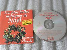 CD-LES PLUS BELLES MUSIQUES DE NOEL-VINCENT RIGOT-ORGUE(CD SINGLE)-2001-20 TRACK