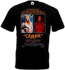 Carrie v.6 T shirt black horror movie poster all sizes S-5XL