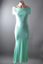 Solid Evening Summer Off Shoulder Mermaid Womens Jersey Long Maxi Dress S M L