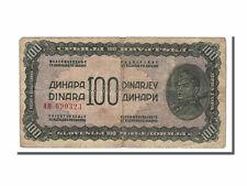Billets Yougoslavie, Yougoslavie, 100 Dinara type 1944
