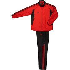 Adidas Men Woven Training Suit/Uniform/Wind Breaker Jacket+Pants/Red