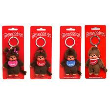 Monchhichi Schlüsselanhänger Junge Mädchen rosa rot blau ca. 10 cm. Monchichi