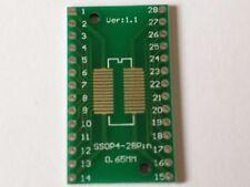 SOP28 SSOP28 TSSOP28 to DIP28 Adapter Converter PCB Board 0.65/1.27mm
