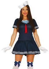Womens Blue Sailor Girl Costume