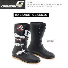 Stivali TRIAL moto GAERNE BALANCE CLASSIC black nero 2532001