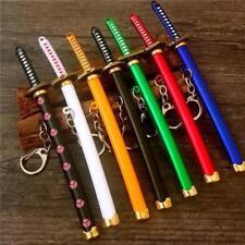 Naruto Anime Alloy Knife Weapon Keychain Key Ring Car Handbag Charm Pendant Gift
