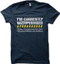 Unsupervised Mens Funny T Shirt - Gift for Him Dad Grandad Joke Slogan Z9225