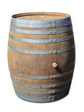 Holzfass, Fass, Barrique Eichenfaß altes Weinfass, Stehtisch oder Badefass 500 L