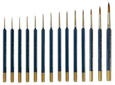 Rotmarder Pinsel - Größe 10/0 bis 12 für Acrylfarben,  Ölfarben, Nail Design NEU